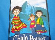 T-shirt péruvien: Cholo Potter.