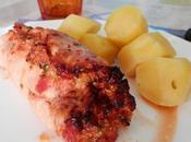 Roulé dinde farcis Jambon, Courgettes, Tomates séchées Fromage Tomate