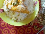 Khir (riz lait indien) mangues caramélisées