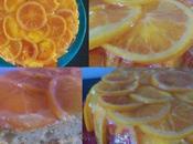 """Gâteau """"rosace"""" oranges"""