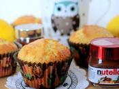 Muffins citron nutella