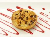 Tartelette poire chocolat, crumble sable amandes