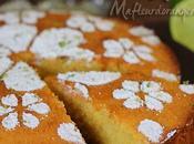 Gâteau polenta citron vert