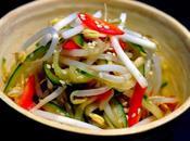 S137 salade concombre soja poivron japonaise