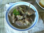 Sauté d'agneau artichauts haricots verts