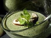 Veloute cresson champignons