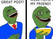 Pepe frog, grenouille préféré 4chan.