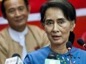 Aung prête appeler boycott général élections 2015 gouvernement interdit devenir Présidente.
