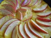 Clafoutis crêpe pommes