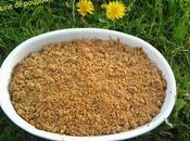 Crumble poireaux quinoa thermomix