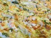Miam Pizza Crabe, Crevettes Asperges
