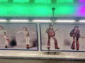 station Pigalle transformée David Bowie
