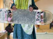 filles mettent skate afghanistan