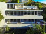 Maison d'architecte flanc colline