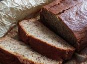 Merveilleux Banana bread sans gluten, lait, vegan possible