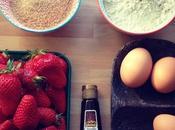 Mercredis gourmands gâteau magique fraise-vanille-pistache
