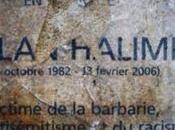 HONTE JOUR. Bagneux: stèle mémoire d'Ilan Halimi, vandalisée