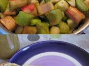Confiture rhubarbe-poire