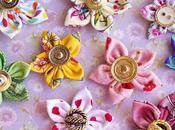 Comment réaliser facilement petites fleurs tissu tuto printanier