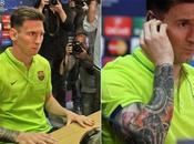 nouveau tatouage Messi