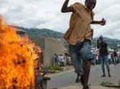 Burundi mort plusieurs blessés dans violents affrontements Bujumbura