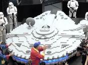 Star Wars Faucon Millenium construit LEGO