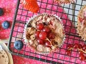Fondants végétaux fruits rouges Sans gluten