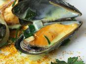 Moules épicées curry coriandre