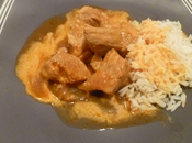 Sauté porc curry Jean Michel Gurret,