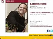 Esteban Riera revient pour trois récitals Museo Casa Carlos Gardel l'affiche]