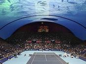Dubaï nous prépare tournoi tennis sous l'eau
