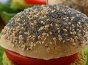 Hamburger végétarien pois chiches courgettes