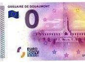 billets euro l'effigie l'Ossuaire Douaumont