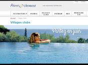 Groupe Pierre Vacances-Center Parcs analyse l'impact économique politique satisfaction client