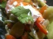 Recette originale salade concombre abricots