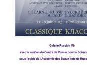CARNET RUSSE PARIS Galerie RUSSKIY 11/26 Juin 2015