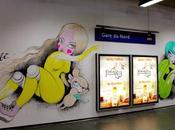Quai Gare Nord transforme galerie d'art