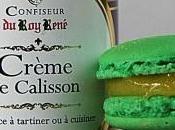 Macarons crème calisson