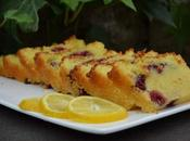 Cake fondant citron framboises
