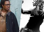 Walking Dead personnage important comics casting saison