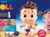 NIVEA distribue poupées prennent coups soleil