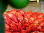 tarte fraises jardin