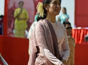 TAPIS ROUGE. Désireuse contrer Etats-Unis Asie Pacifique, Chine fait cour Aung