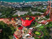 parc d'attractions Ferrari Land enfin chantier