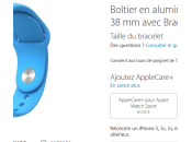 Apple Watch réservation retrait Store disponibles