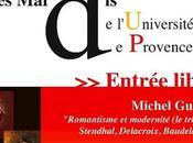 Romantisme modernité, conférence Michel Guérin