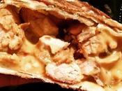Tortilla poulet épicé, fromage