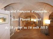Salon Société française d'aquarelle Saint-Florent-le-Vieil 2015
