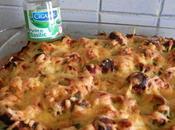 Gratin Gnocchis Courgettes, Saucisses Sauce verte...