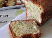 Cake salé Lait ribot, Petits Pois, Féta, Jambon fumé Mimolette